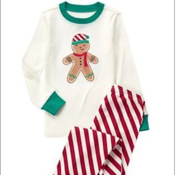 Gymboree Boys Size 12-18 Months Holiday Gymmies PJ/'s  NWT NEW Gingerbread